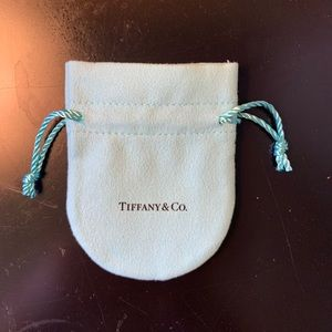 Authentic Tiffany & Co small Pouth
